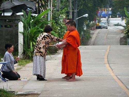 Monniken opstraat