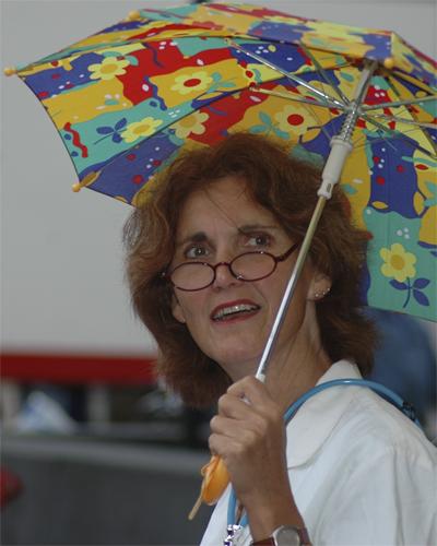 Regen of zon ik ben er gereedvoor
