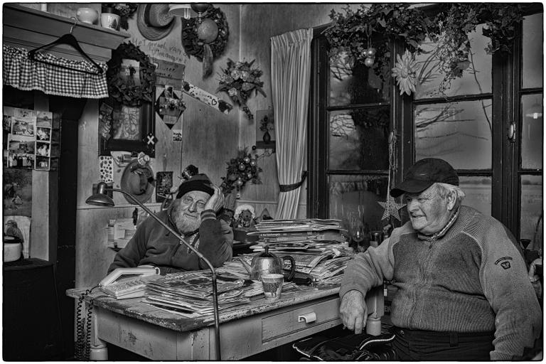 DSC_4942 Jo & Piet in kerstsfeer